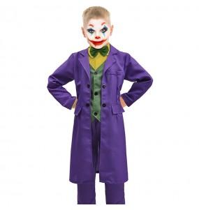 Fato de Joker Classic para menino