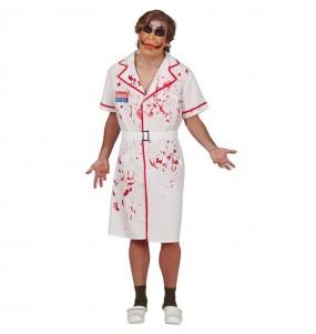 Fato de Joker Enfermeira para homem