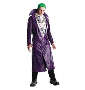 Fato de Joker Suicide Squad adulto para a noite de Halloween