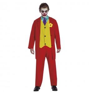Disfarce Joker Joaquin Phoenix adulto divertidíssimo para qualquer ocasião