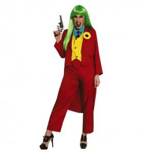 Fato de Joker Joaquin Phoenix para mulher