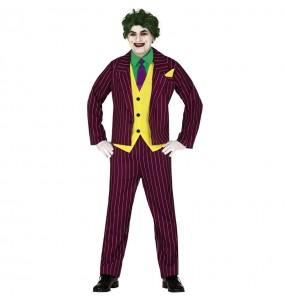 Disfarce Joker Arkham adulto divertidíssimo para qualquer ocasião