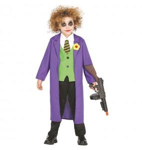 Disfarce Joker Batman menino para deixar voar a sua imaginação