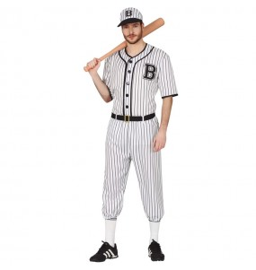 Fato de Jogador de basebol para homem