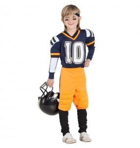 Disfarce Futebol Americano da NFL menino para deixar voar a sua imaginação