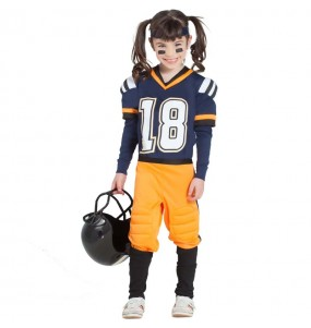 Disfarce Futebol Americano da NFL menina para que eles sejam com quem sempre sonharam