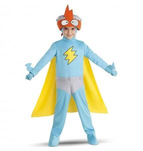 Fato Kid Kazoom dos SuperZings para crianças