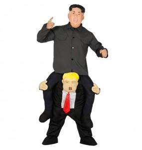 Disfarce Ride On Kim Jong-un em Donald Trump adulto divertidíssimo para qualquer ocasião