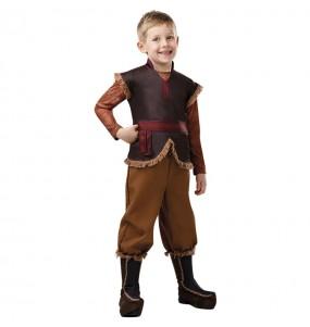 Disfarce Kristoff Frozen 2 menino para deixar voar a sua imagina??o