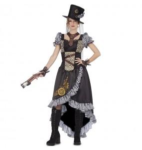 Disfarce original Lady Steampunk mulher ao melhor preço