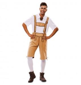 Fato de Lederhose Oktoberfest para homem