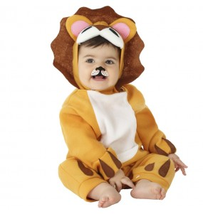 Fato de Leão feroz para bebé