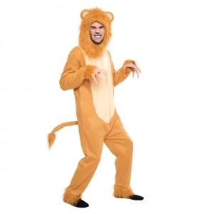 Disfarce Leão Cobarde de O Feiticeiro de Oz adulto divertidíssimo para qualquer ocasião