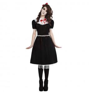 Fato de Gothic Lolita para mulher