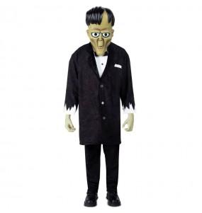 Disfarce Halloween Lurch A Família Addams para meninos para uma festa do terror