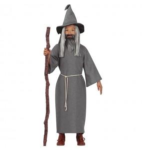 Fato de Mago Gandalf para menino