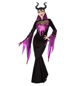 Disfarce original Bruxa Maléfica mulher ao melhor preço