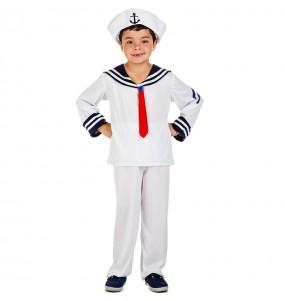 Disfarce Marinheiro Elegante menino para deixar voar a sua imaginação