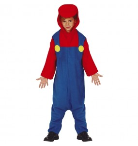 Disfarce japonês Mario Bros Kigurumi criança para deixar voar a sua imaginação