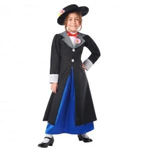 Fato de Mary Poppins Deluxe para menina