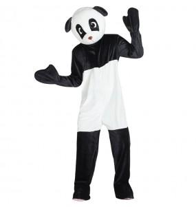 Disfarce Mascote Urso Panda adulto divertidíssimo para qualquer ocasião