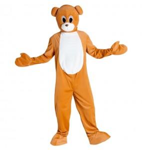 Disfarce Mascote Urso adulto divertidíssimo para qualquer ocasião