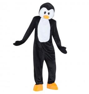 Disfarce Mascote Pinguim adulto divertidíssimo para qualquer ocasião