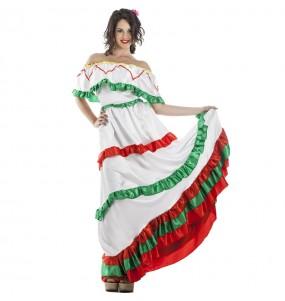 Fato de Mexicana Tijuana para mulher