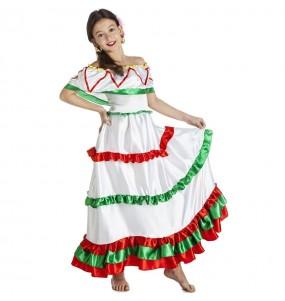 Fato de Mexicana Tijuana para menina