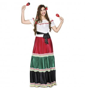 Fato de Mexicana tradicional para mulher