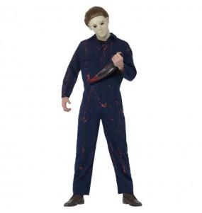 Fato de Michael Myers adulto para a noite de Halloween
