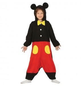 Disfarce japonês Mickey Mouse Kigurumi criança para deixar voar a sua imaginação