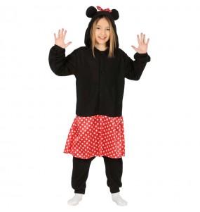 Disfarce japonês Minnie Mouse criança para deixar voar a sua imaginação