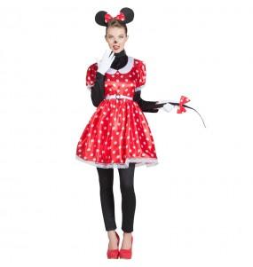 Fato de Minnie Mouse para mulher