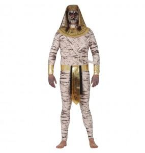 Fato de Múmia zombie para homem