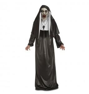 Fato de Freira Valak adulto para a noite de Halloween