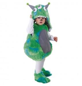 Fato de Monstro Verde para bebé