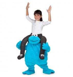Disfarce Ride On Monstro das Bolachas Rua Sésamo meninos para deixar voar a sua imaginação