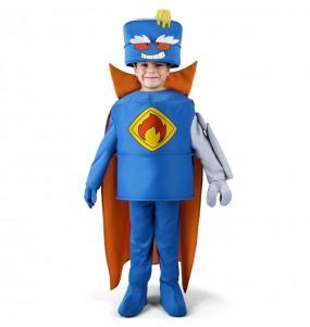 Fato Mr. King dos SuperZings para crianças