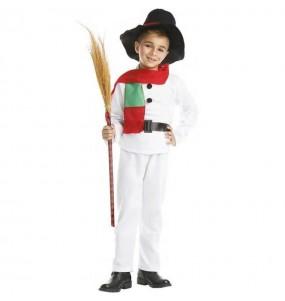 Disfarce Boneco de Neve menino para deixar voar a sua imaginação