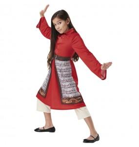 Fato de Mulan Live Action para menina