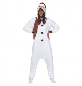 Disfarce original boneco de neve mulher ao melhor preço