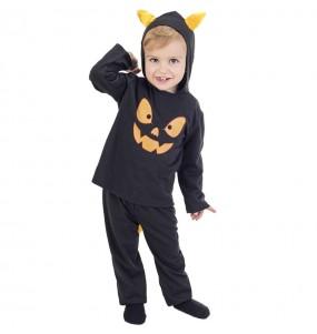 Disfarce Halloween Morcego com asas com que o teu bebé ficará divertido.