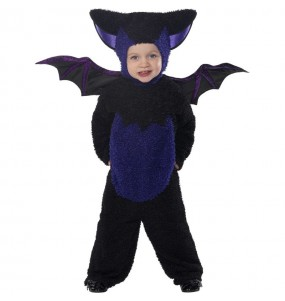Fato de Morcego preto para bebé