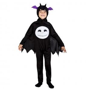 Fato de Morcego preto para menino
