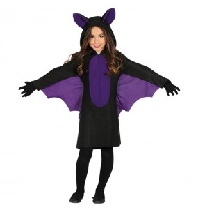 Disfarce Morcego menina para que eles sejam com quem sempre sonharam
