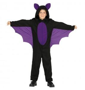 Disfarce Morcego menino para deixar voar a sua imaginação