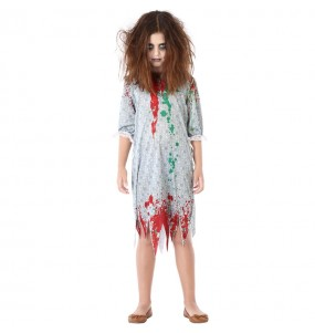 Disfarce Halloween menina possuída meninas para uma festa Halloween