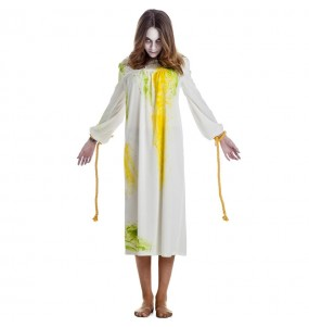 Fato de Menina de O Exorcista possuída para mulher