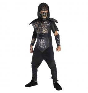 Fato de Ninja Infernal para menino